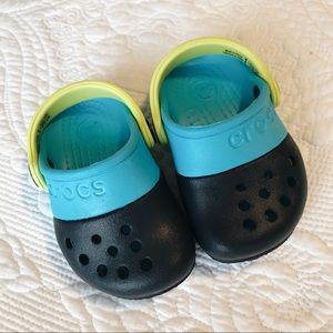 Blue Baby Crocs NEW size 4